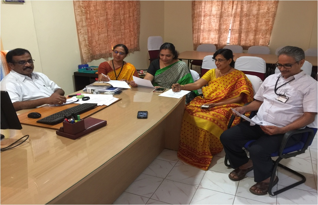 Research Group Meeting of RVR & JC College of Engineering